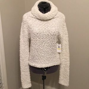 NWT Jessica Simpson cowl neck sparkle sweater